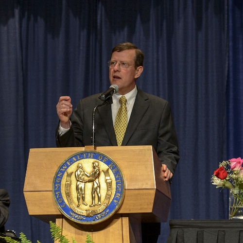 Dr. Sleeth Gives Keynote at Kentucky Governor's Prayer Breakfast